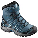 Salomon Boys' Xa Pro 3D Winter Ts CSWP J High Rise Hiking Boots, Turquoise