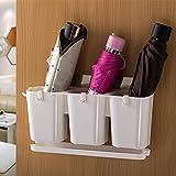 Kreative Regenschirm lagerung Eimer Hause Wasserdicht zahnstange Multifunktionale taschenschirm lagerung Rack Tür Hinter der Wand Schirm Stand Regal Regenschirm entwässerung Rohr dachschirm Rack