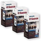 Brita Intenza+, Confezione da 3 cartucce filtranti acqua per macchina da caffé espresso Saeco