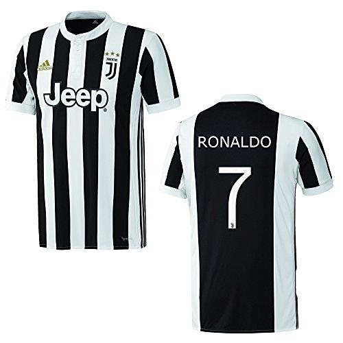 adidas Juventus Turin Trikot Home Herren - Ronaldo 7, Größe:L