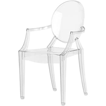 Kartell 4853B4 LOUIS GHOST Chaise Lot De 4 Transparent Amazonfr