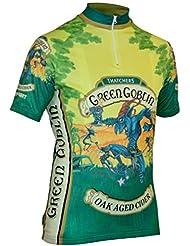 Impsport Duende Verde sidra de ciclismo Jersey hombres y señoras tamaños, color Greens, tamaño XX-Large Men's 44'' Chest