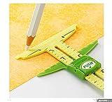 honeysew 5-in-1calibre deslizante con Nancy Zieman medir herramienta de costura