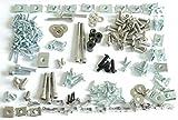 Tech-Parts-Koeln Ultra Set Aprilia Sr 50 Factory Verkleidungsschrauben + Klemmen Clips 179 Teile!