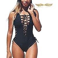 BYD da Donna Costumi interi Bikinis Benda Push up Costume da Bagno Diving Suit Mare e piscina Sportswear Swimsuit Beachwear