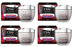 Olay Regenerist Advanced Anti-aging Night Firming Cream, Moisturize, 1.7 Oz (Pack of 4) + LA Cross Blemish Remover 74851