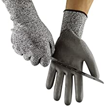 Cut Resistant Gloves Size 7/S - CE EN388 Certified, PPE Level 5 Protection, Anti-Slash Safety Gloves for Kitchen, Garden and Work Site - Top Quality from Ever Oasis