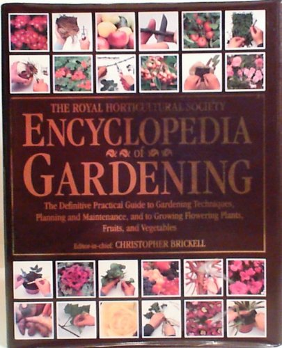 Royal Horticultural Society Encyclopedia of Gardening (Value Books)