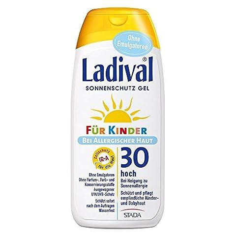 Ladival Sonneschutz Gel für Kinder bei allergischer Haut LSF 30,