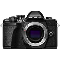 Olympus OM-D E-M10 Mark III Compact System Camera - Black