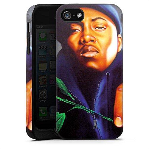 Apple iPhone X Silikon Hülle Case Schutzhülle Nas Rapper Illmatic Tough Case matt