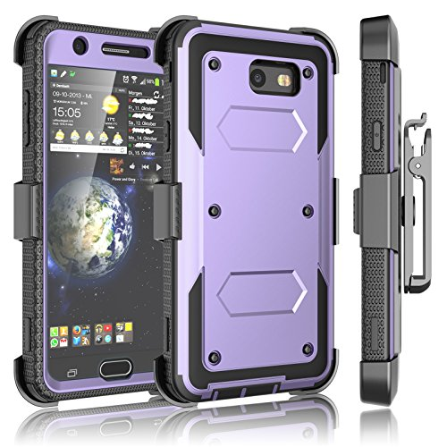 Galaxy J7 Sky Pro Fall, Galaxy J7 V/j7 V/J7 perx Clip, tekcoo [tshell] [integrierten Bildschirm] Locking Sicherer Swivel Gürtel Ständer Full Body Case Cover für Samsung J7 2017 Seidio Swivel Holster