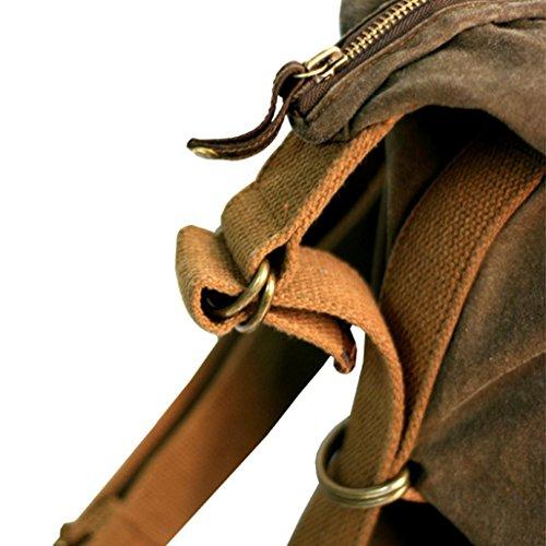 Le sac convertible Kakadu Traders Scrubbed Convertible Bag, 9L06 Kaki