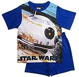 Star Wars Pyjama Ökotex Standard 100 Kollektion 2018 Shortie 104 110 116 122 128 134 140 146 Shorty Kurz Schlafanzug BB8 (Blau, 116)