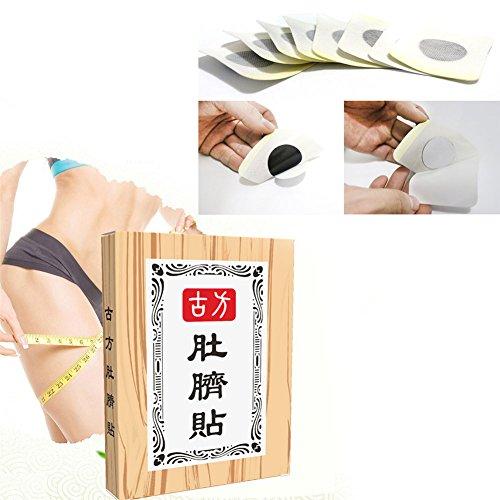 20 Stk Schlankheits Paste Aufkleber Dünne Taillen Bauch Fett Brennende abnehmende Flecken Diät Produkte (Präparate Nutzen Pflanzliche)
