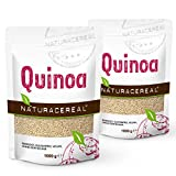 NATURACEREAL - Quinoa Blanca Premium (2 x 1kg) - | Mayor contenido de...