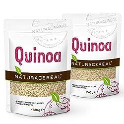 NATURACEREAL Quinoa, weiß, 2er Pack (2 x 1000g)