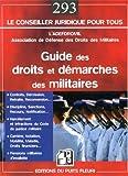 Guide des droits et démarches des militaires