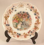 Royal Doulton CP1056 Jill Barklem 1982 Brambly Hedge Autumn Teller, Herbstdesign