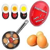 Idea High Hot New Gadgets 2015 TV Eierkocher Eieruhr Farbwechsel Timer Yummy Soft Hard gekocht Eier Kochen Küche Gadget Eier Timer