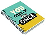 #8: PPD Notebook A5 Size | Notebook for students |Inspirational Thoughts Notebook | School Notebooks for Important Notes | Office notebook | Notebook for college student | | Notebook For Personal Diary