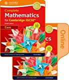Complete Mathematics for Cambridge IGCSE® Print & Online Student Book (Core) (Cie Igcse Complete)
