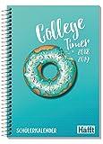 Häfft College-Timer A5 2018/2019 [Donut] Schülerkalender/Schüler-Tagebuch/Schülerplaner, Spiralbindung