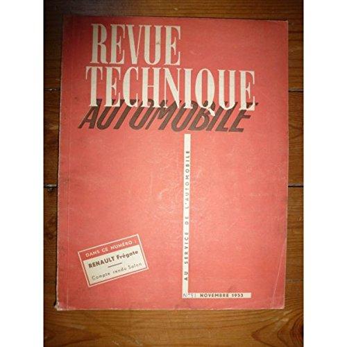 Rta-revue Techniques Automobiles - Fregate Revue Technique Renault Etat - Bon Etat Occasion