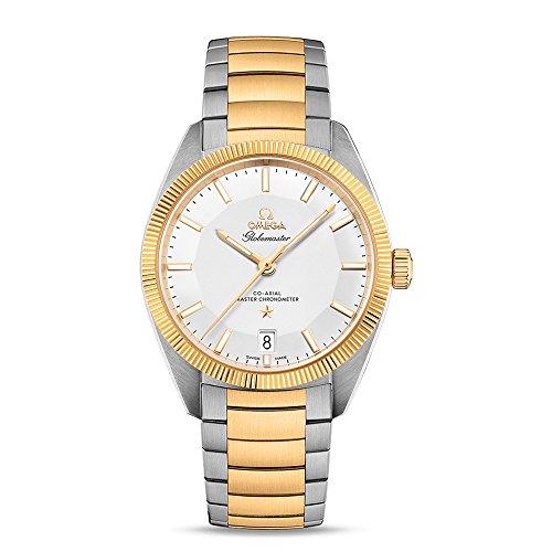 Omega Constellation Globemaster 130.20.39.21.02.001 - Reloj automático para Hombre (Acero y Oro Amarillo de 18 Quilates)