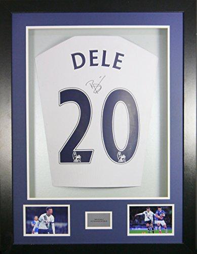 Deli-Alli-Tottenham-Hotspur-Signed-Shirt-3D-Framed-Display-with-COA