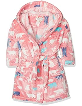 Hatley Mädchen Fleece Robe Lbh Kids Fleece Robe-Pink Bears