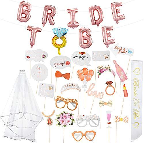 ZOEON Bride to Be Foto Props
