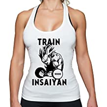 THE LION Vegeta Insaiyan Train To Beat Goku Golds Son Gym Camiseta Sin Mangas Para Mujer Dragon Master Son Ball Turtle Roshi Db