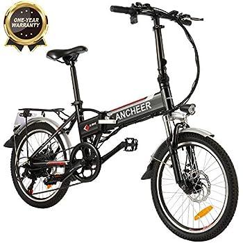 BIKFUN Bicicleta eléctrica, 20
