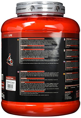 BWG Mega Muscle Weight Gainer 100% Maximum 5kg Protein Test24
