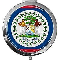 """metALUm - Extragroße Pillendose in runder Form""""Flagge Belize"""" preisvergleich bei billige-tabletten.eu"""