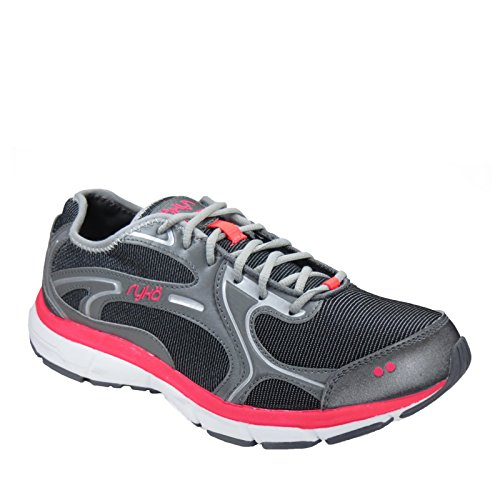 Ryka Prodigy 2 Large Synthétique Chaussure de Course Blkd-Gry-Cr