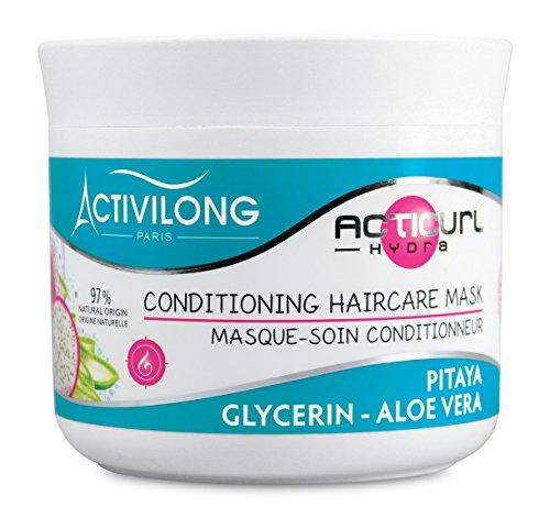 Activilong Acticurl Hydra Masque-Soin Conditionneur Pitaya Glycerin Aloe Vera 200 ml