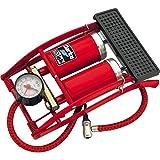 Krevia Amazing New Delux/Strong CN-200 Twin Barrel High Pressure Foot Pump