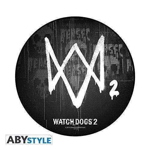 Preisvergleich Produktbild Watch Dogs-Mousepad-Logo in Form