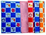 #4: Yodream Water Proof Bed Protector For Baby Dry Sheet Small (70 Cm*50 Cm) (Pack Of 4) - Multi Color