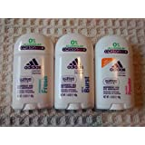 Adidas Deodorant For Women Multi Pack Of Aluminum Free Fitness Fresh