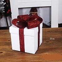 KYWBD Caja decoración,Dobladillo de árbol de Navidad-C