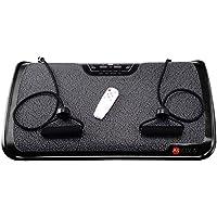 Preisvergleich für AsVIVA V9 Vibrationsplatte/Vibraplate mit 200 Watt Motor, 3 Zonen inkl. Fernbedienung und Gummibänder