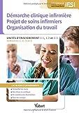Diplôme d'État infirmier - UE 3.1, 3.2 et 3.3 Démarche clinique infirmière. Projet de soins. Organisation du travail - Semestres 1, 2, 3 et 5