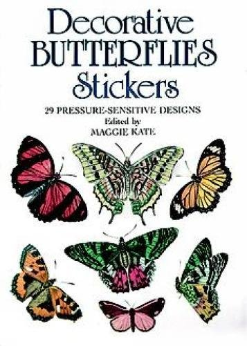 Decorative Butterflies Stickers: 29 Pressure-Sensitive Designs (Dover Stickers)