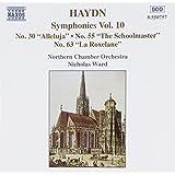 Haydn : Symphonies vol. 10 Nos 30, 50 & 63