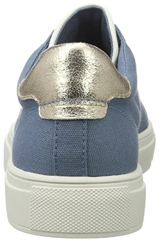 Esprit Sandrine Lu, Sneakers Basses Femme Bleu (420 Grey Blue)