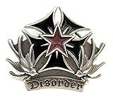 Disorder Buckle, Eisernes Kreuz & Schwalben, Tattoo - Gürtelschnalle
