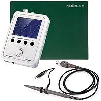 JYETech 'DSO Shell' Osciloscopio DIY Kit w / Enclosure, sonda de 100MHz, sonda de clip y ESD-Safe Mat Silicona